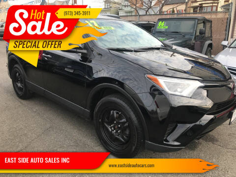 2017 Toyota RAV4 for sale at EAST SIDE AUTO SALES INC in Paterson NJ
