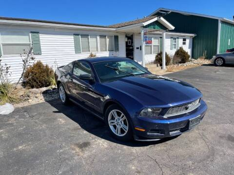 2010 Ford Mustang for sale at Pine Auto Sales in Paw Paw MI
