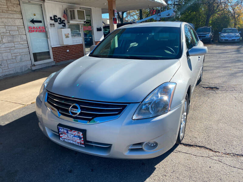 2012 Nissan Altima for sale at New Wheels in Glendale Heights IL