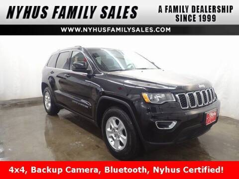 2017 Jeep Grand Cherokee for sale at Nyhus Family Sales in Perham MN