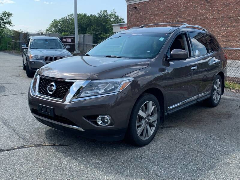2015 Nissan Pathfinder for sale at Ludlow Auto Sales in Ludlow MA
