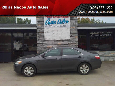 2007 Toyota Camry for sale at Chris Nacos Auto Sales in Derry NH