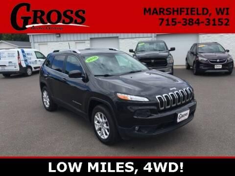 2016 Jeep Cherokee for sale at Gross Motors of Marshfield in Marshfield WI
