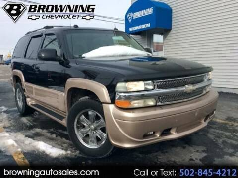 2004 Chevrolet Tahoe for sale at Browning Chevrolet in Eminence KY