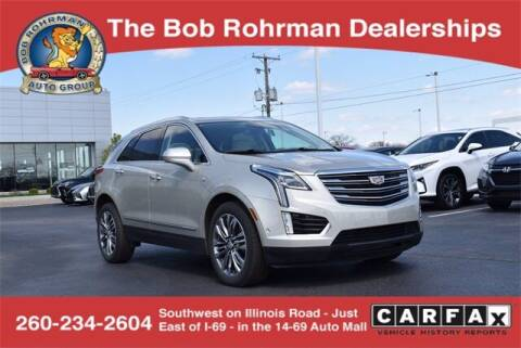 2017 Cadillac XT5 for sale at BOB ROHRMAN FORT WAYNE TOYOTA in Fort Wayne IN