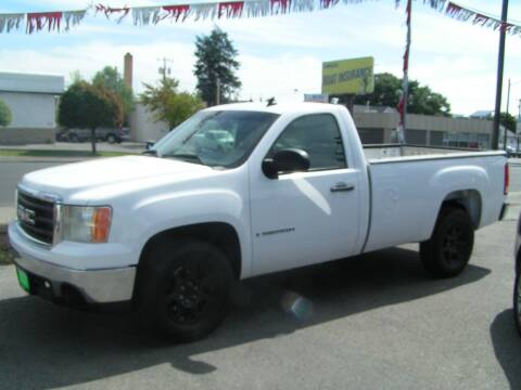 2007 GMC Sierra 1500 for sale at Common Sense Motors in Spokane WA