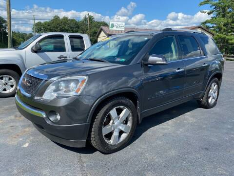 2011 GMC Acadia for sale at Pine Grove Auto Sales LLC in Russell PA