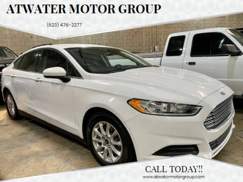 2016 Ford Fusion for sale at Atwater Motor Group in Phoenix AZ
