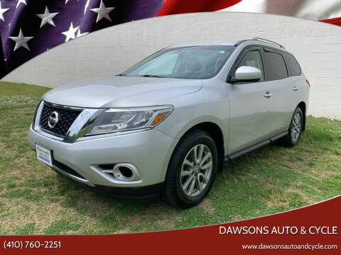 2014 Nissan Pathfinder for sale at Dawsons Auto & Cycle in Glen Burnie MD