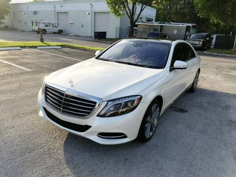 2016 Mercedes-Benz S-Class for sale at Best Price Car Dealer in Hallandale Beach FL