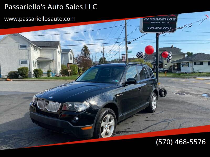2008 BMW X3 for sale at Passariello's Auto Sales LLC in Old Forge PA