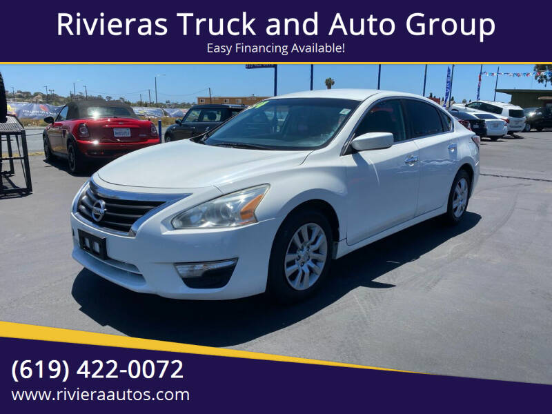 2014 Nissan Altima for sale at Rivieras Truck and Auto Group in Chula Vista CA