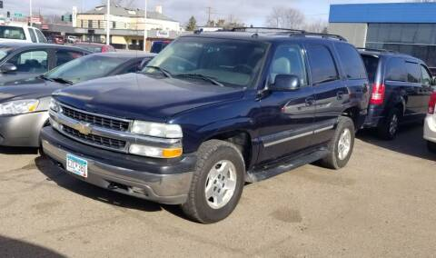 2005 Chevrolet Tahoe for sale at Tower Motors in Brainerd MN