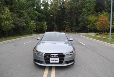 2013 Audi A6 for sale at Source Auto Group in Lanham MD