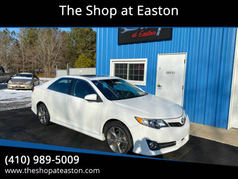 2013 Toyota Camry for sale at The Shop at Easton in Easton MD