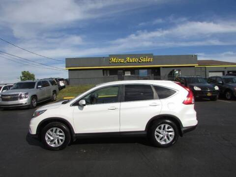 2015 Honda CR-V for sale at MIRA AUTO SALES in Cincinnati OH