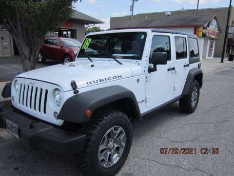 2018 Jeep Wrangler JK Unlimited for sale at Bitner Motors in Pittsburg KS