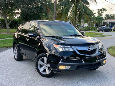 2013 Acura MDX for sale at Citywide Auto Group LLC in Pompano Beach FL