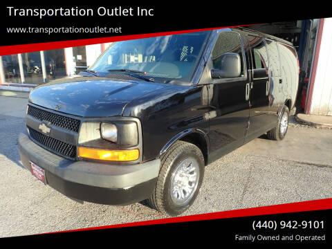 2009 Chevrolet Express Cargo for sale at Transportation Outlet Inc in Eastlake OH