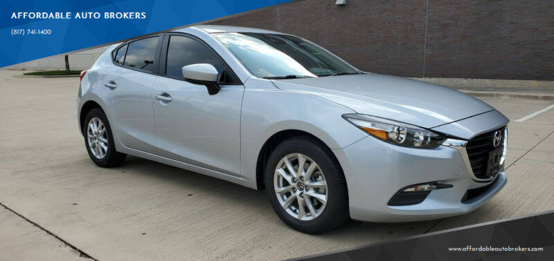 2018 Mazda MAZDA3 for sale at AFFORDABLE AUTO BROKERS in Keller TX