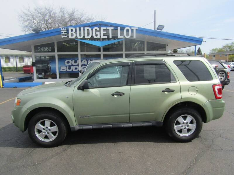 2008 Ford Escape for sale at THE BUDGET LOT in Detroit MI