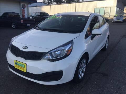 2013 Kia Rio for sale at Federal Way Auto Sales in Federal Way WA