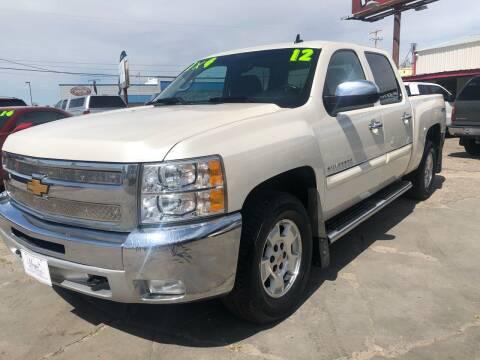 2012 Chevrolet Silverado 1500 for sale at MAGIC AUTO SALES, LLC in Nampa ID