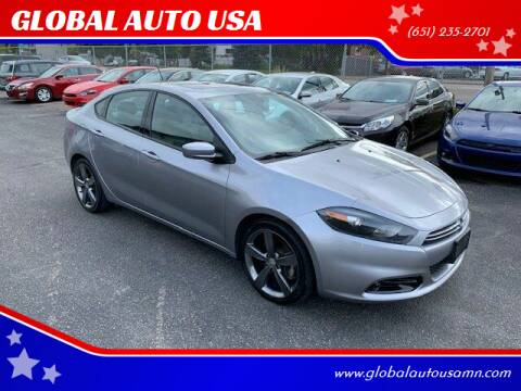 2014 Dodge Dart for sale at GLOBAL AUTO USA in Saint Paul MN