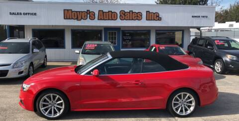 2015 Audi A5 for sale at Moye's Auto Sales Inc. in Leesburg FL