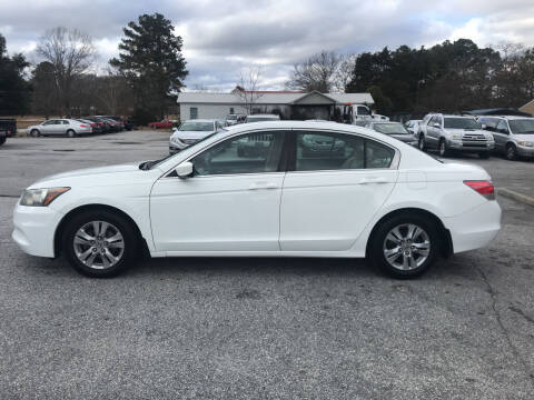 2012 Honda Accord for sale at TAVERN MOTORS in Laurens SC