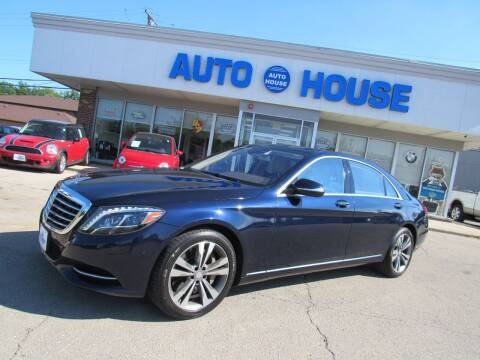 2016 Mercedes-Benz S-Class for sale at Auto House Motors in Downers Grove IL