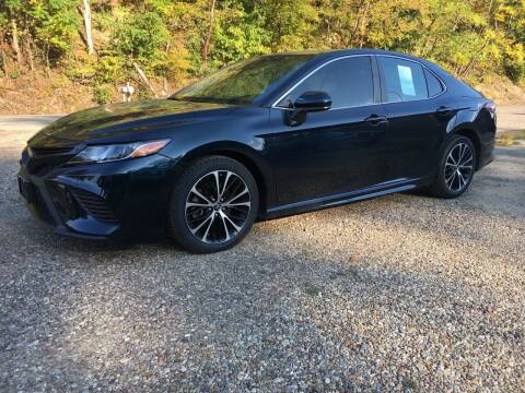2018 Toyota Camry for sale at DONS AUTO CENTER in Caldwell OH