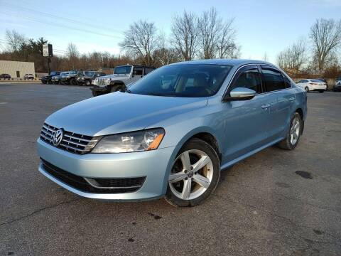 2012 Volkswagen Passat for sale at Cruisin' Auto Sales in Madison IN