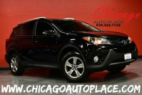 2015 Toyota RAV4 for sale at Chicago Auto Place in Bensenville IL