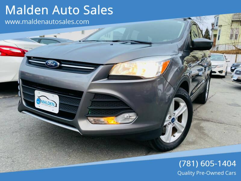 2013 Ford Escape for sale at Malden Auto Sales in Malden MA