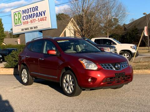 2013 Nissan Rogue for sale at GR Motor Company in Garner NC