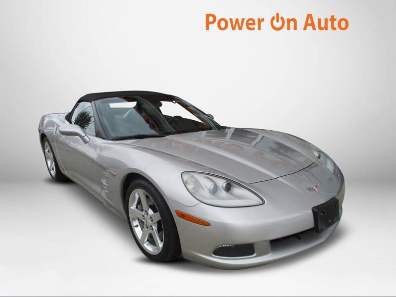 2005 Chevrolet Corvette for sale at Power On Auto LLC in Monroe NC