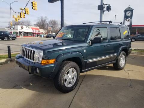 2006 Jeep Commander for sale at Madison Motor Sales in Madison Heights MI