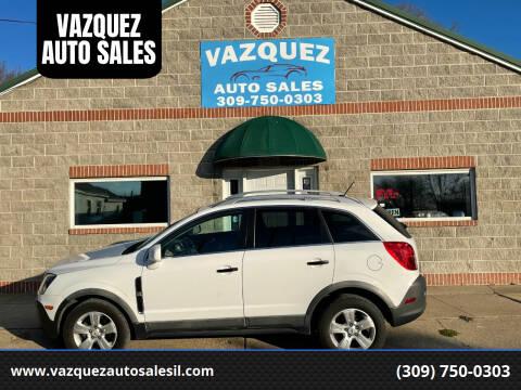 2015 Chevrolet Captiva Sport for sale at VAZQUEZ AUTO SALES in Bloomington IL