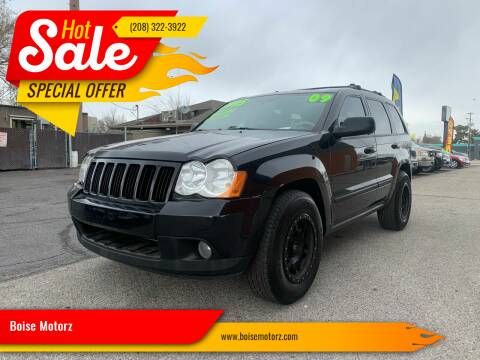 2009 Jeep Grand Cherokee for sale at Boise Motorz in Boise ID