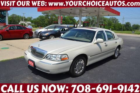 2006 Lincoln Town Car for sale at Your Choice Autos - Crestwood in Crestwood IL