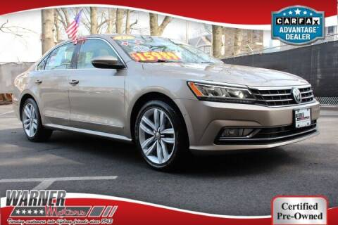 2017 Volkswagen Passat for sale at Warner Motors in East Orange NJ