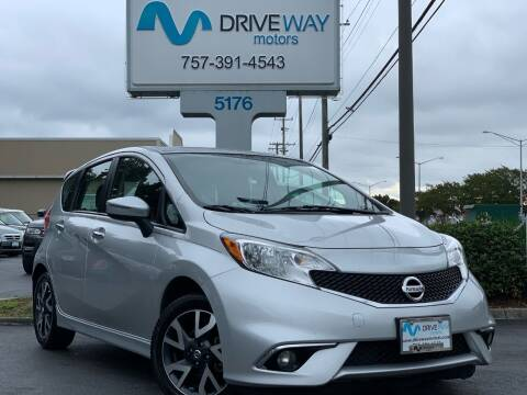 2016 Nissan Versa Note for sale at Driveway Motors in Virginia Beach VA
