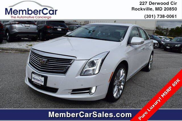 2016 Cadillac XTS for sale at MemberCar in Rockville MD