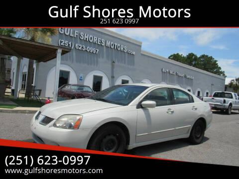 2005 Mitsubishi Galant for sale at Gulf Shores Motors in Gulf Shores AL