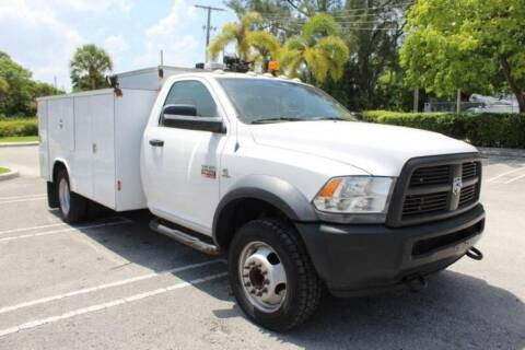 2012 RAM Ram Chassis 5500 for sale at Truck and Van Outlet - Miami Inventory in Miami FL