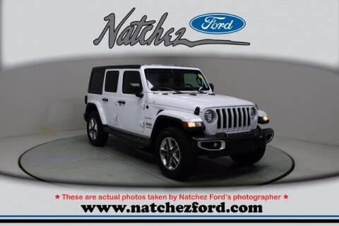 2020 Jeep Wrangler Unlimited for sale at Auto Group South - Natchez Ford Lincoln in Natchez MS