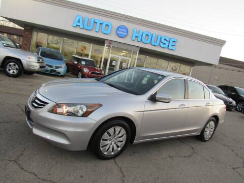 2011 Honda Accord for sale at Auto House Motors in Downers Grove IL