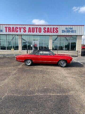 1967 Chevrolet Chevelle for sale at Tracy's Auto Sales in Waco TX