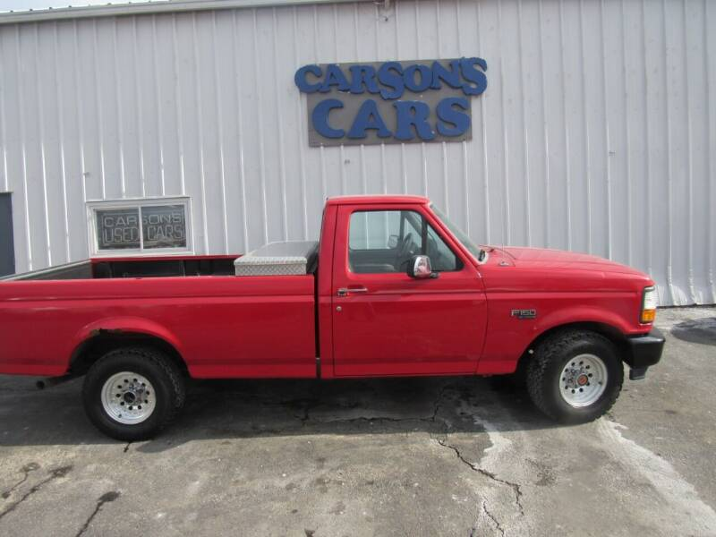 1996 Ford F-150 for sale at Carson's Cars in Milwaukee WI